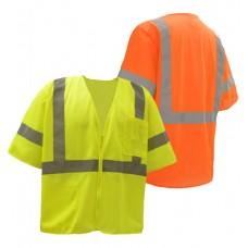 Class 3 Mesh Zip Vest