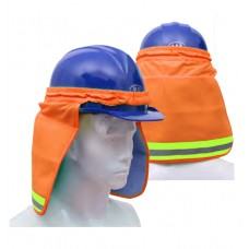 Hard Hat Sun Shield With PVA Cooling